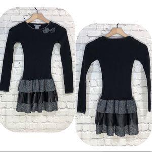 Other - 💥MUST BUNDLE💥Girl's Metallic Sweater Dress